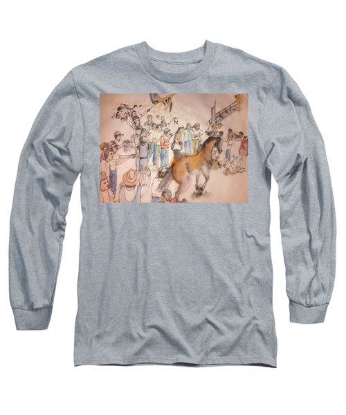 Siena And Their Palio Album Long Sleeve T-Shirt