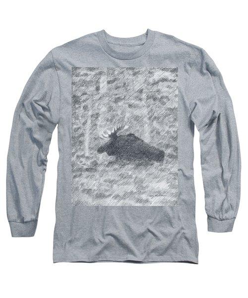 1000 Pounds Of Bull Long Sleeve T-Shirt