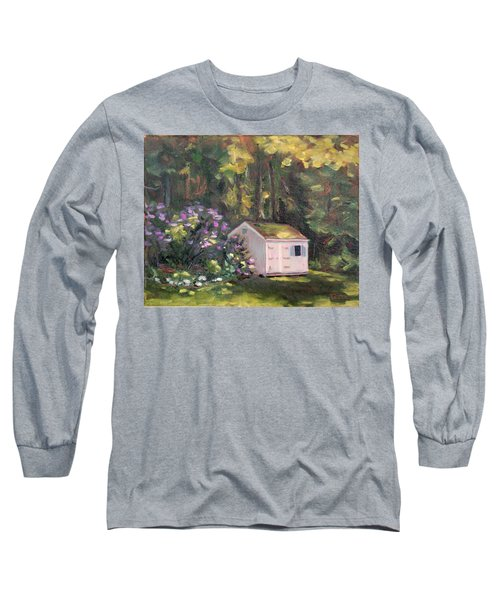 101 Blooms Long Sleeve T-Shirt by Trina Teele