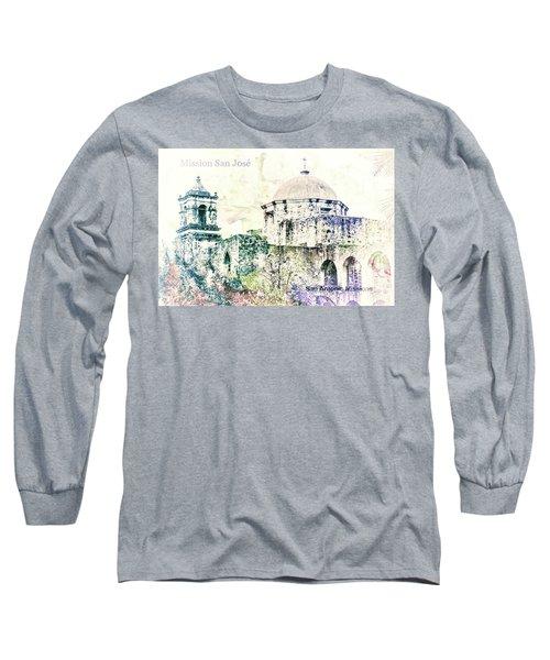 10857 Mission San Jose Long Sleeve T-Shirt