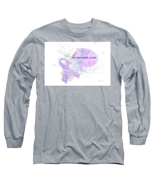 10969 No One Fights Alone Long Sleeve T-Shirt
