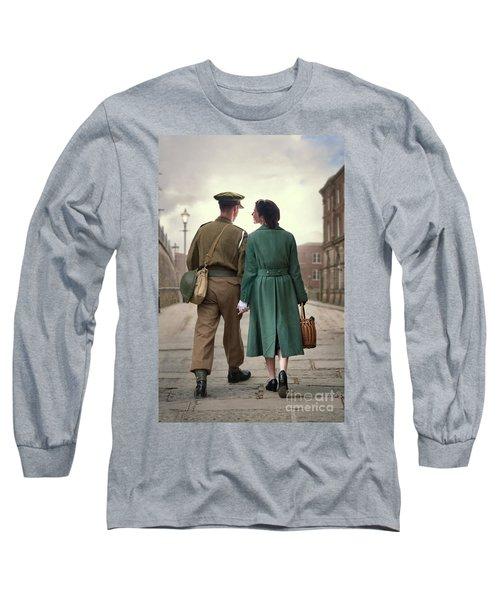 1940s Couple Long Sleeve T-Shirt