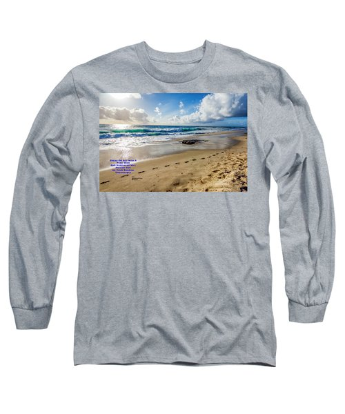 A Buddha Saying Long Sleeve T-Shirt