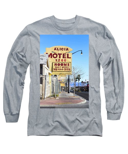 Remnants Of Vintage Vegas Long Sleeve T-Shirt