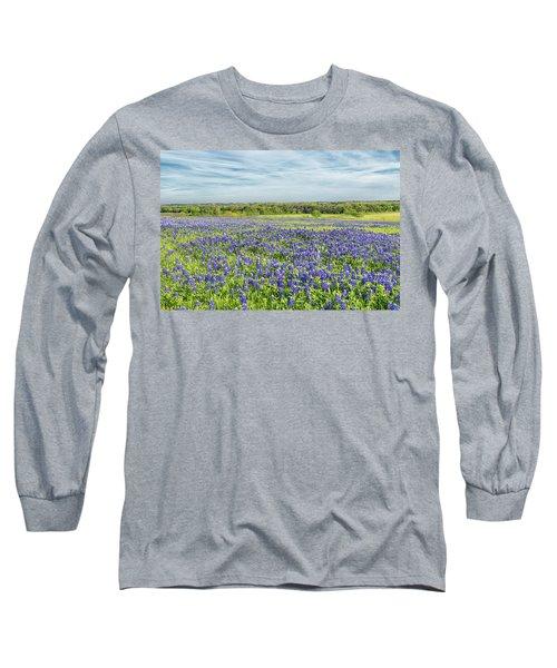Texas Bluebonnets 11 Long Sleeve T-Shirt