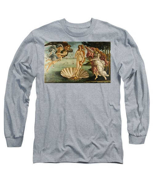 The Birth Of Venus Long Sleeve T-Shirt