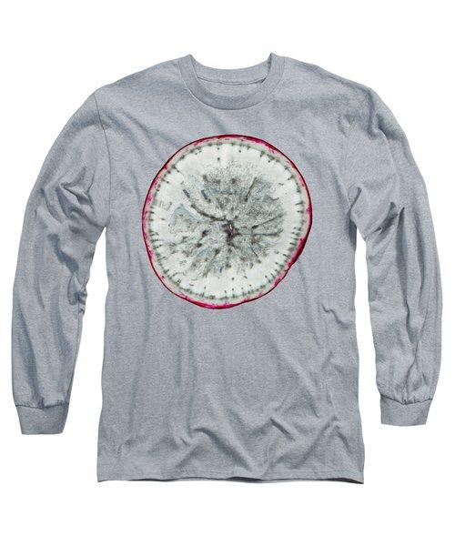 11257 The Food We Eat - Radish Long Sleeve T-Shirt