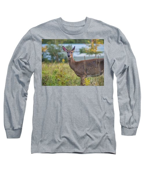 Down East Maine  Long Sleeve T-Shirt by Trace Kittrell