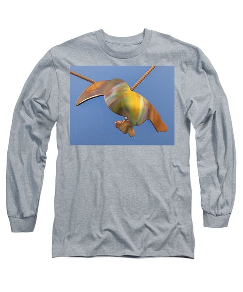1243 Toucan Long Sleeve T-Shirt by Dianne Brooks