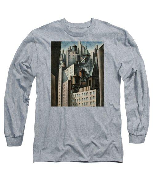 14th Street New York City Long Sleeve T-Shirt