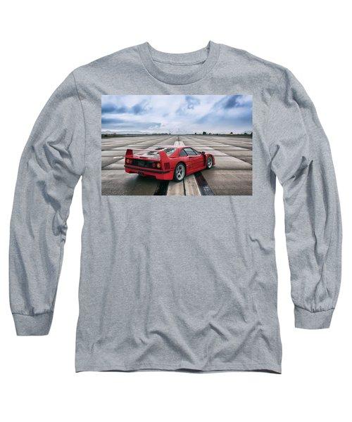 #ferrari #f40 #print Long Sleeve T-Shirt