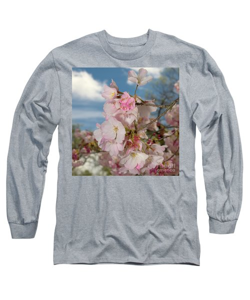 Silicon Valley Cherry Blossoms Long Sleeve T-Shirt by Glenn Franco Simmons