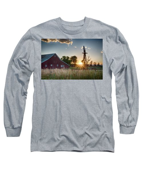 17 Mile House Farm - Sunset Long Sleeve T-Shirt