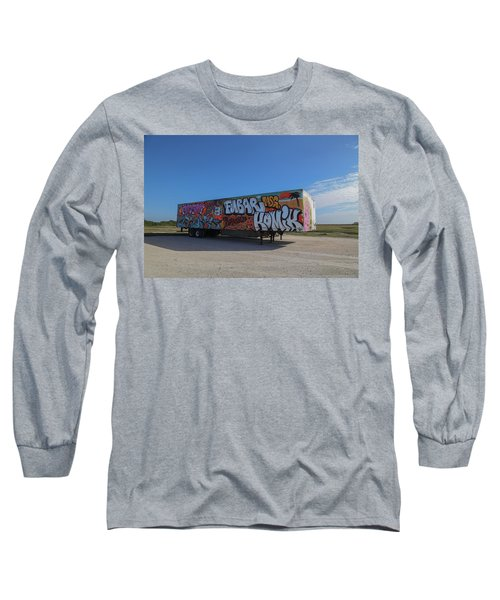 18 Wheeler Art Long Sleeve T-Shirt