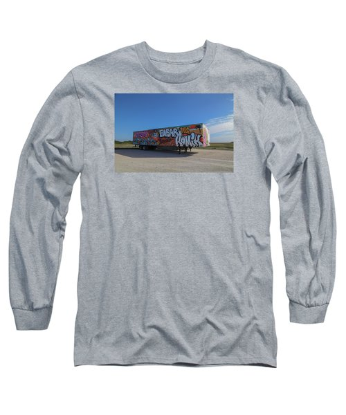 18 Wheeler Art Long Sleeve T-Shirt