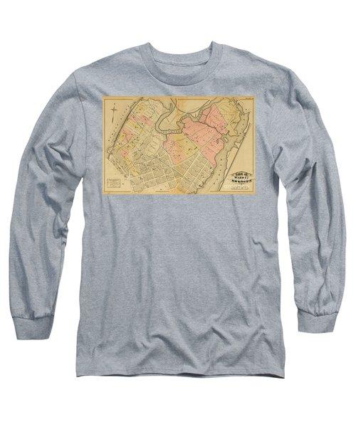 1879 Inwood Map  Long Sleeve T-Shirt
