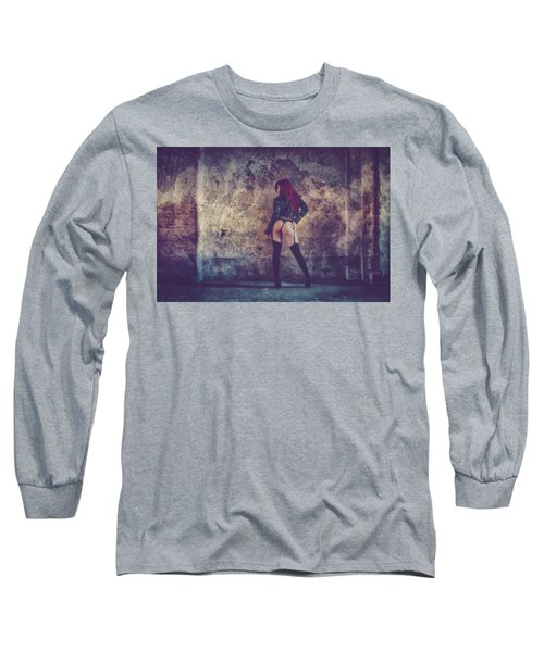 Pretty Things Are Going To Hell Long Sleeve T-Shirt by Traven Milovich