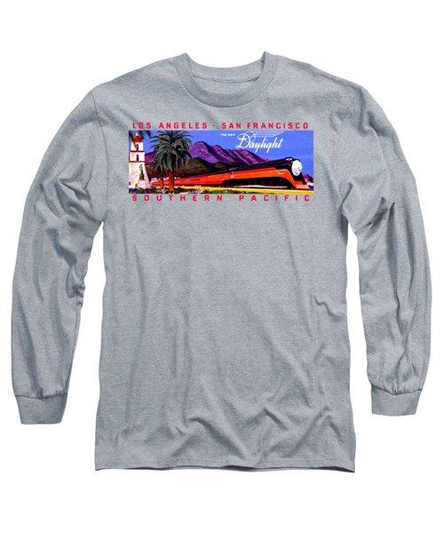 1922 Daylight Railroad Train Long Sleeve T-Shirt