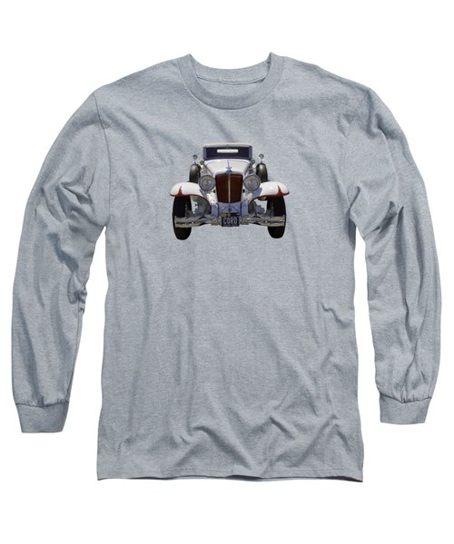1929 Cord 6-29 Cabriolet Antique Car Long Sleeve T-Shirt