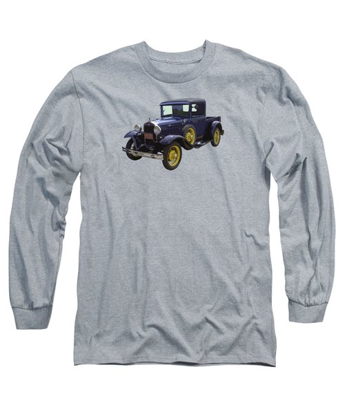 1930 - Model A Ford - Pickup Truck Long Sleeve T-Shirt