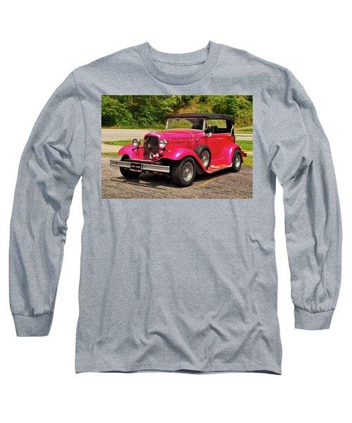 1932 Street Rod 001 Long Sleeve T-Shirt by George Bostian