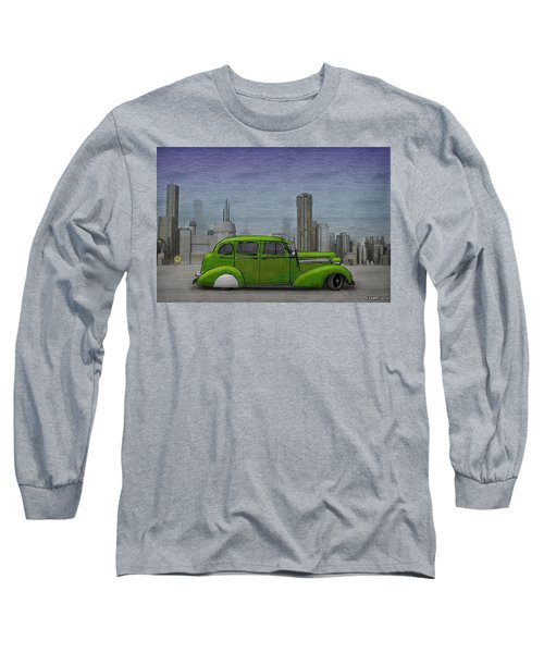 1936 Buick  Long Sleeve T-Shirt by Ken Morris