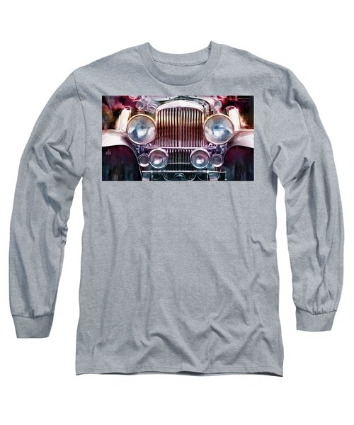 1937 Duesenberg Sportline Grill Painting Long Sleeve T-Shirt