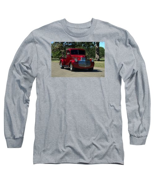 1946 Chevrolet Pickup Truck Long Sleeve T-Shirt by Tim McCullough