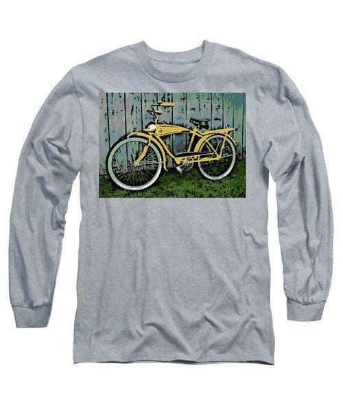 1949 Shelby Donald Duck Bike Long Sleeve T-Shirt