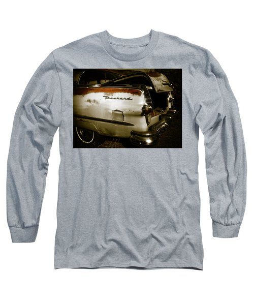 Long Sleeve T-Shirt featuring the photograph 1950s Packard Trunk by Marilyn Hunt