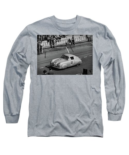 1951 Porsche At Le Mans - Doc Braham - All Rights Reserved Long Sleeve T-Shirt