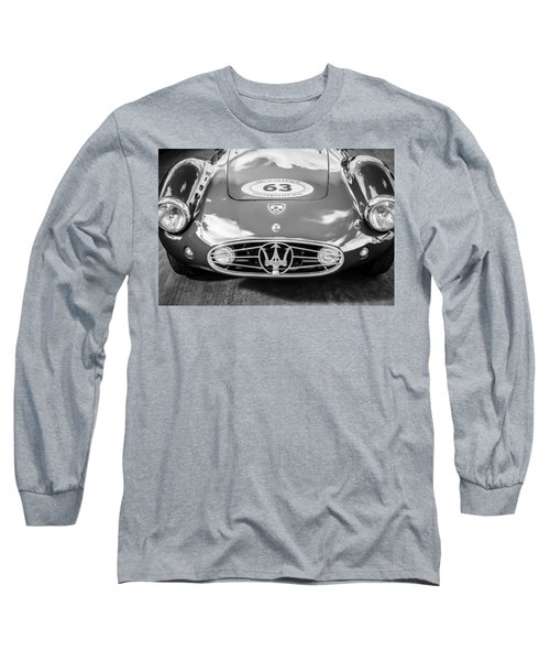 1954 Maserati A6 Gcs -0255bw Long Sleeve T-Shirt