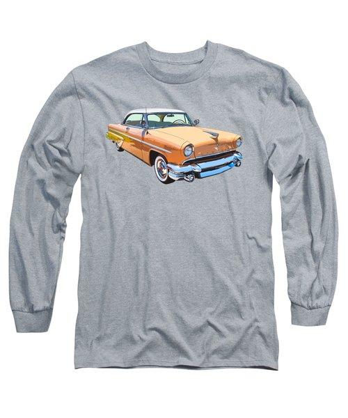 1955 Lincoln Capri Fine Art Illustration  Long Sleeve T-Shirt