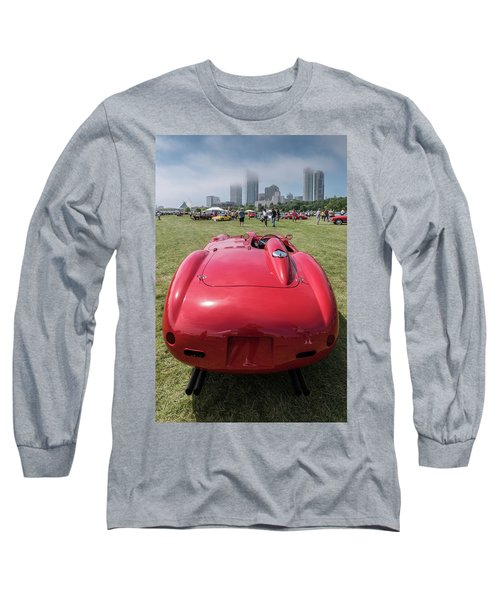 Long Sleeve T-Shirt featuring the photograph 1956 Ferrari 290mm - 2 by Randy Scherkenbach