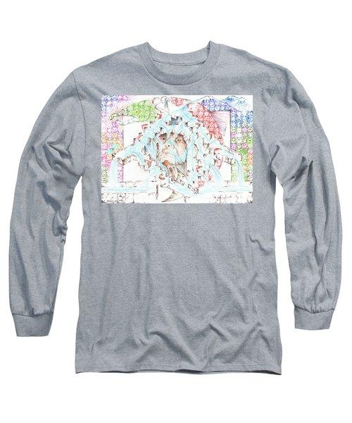 1957 Celilo Falls Long Sleeve T-Shirt