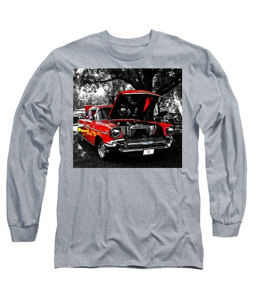 1957 Chevy Bel Air Long Sleeve T-Shirt
