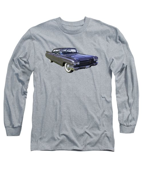 1960 Cadillac - Classic Luxury Car Long Sleeve T-Shirt