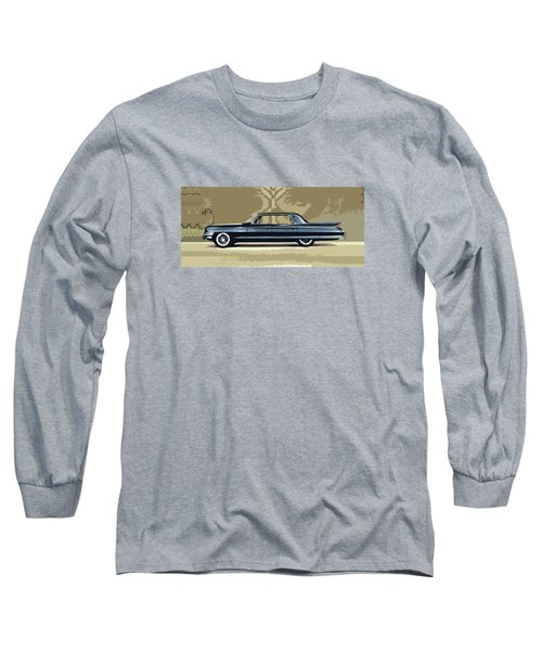 1961 Cadillac Fleetwood Sixty-special Long Sleeve T-Shirt by Bruce Stanfield