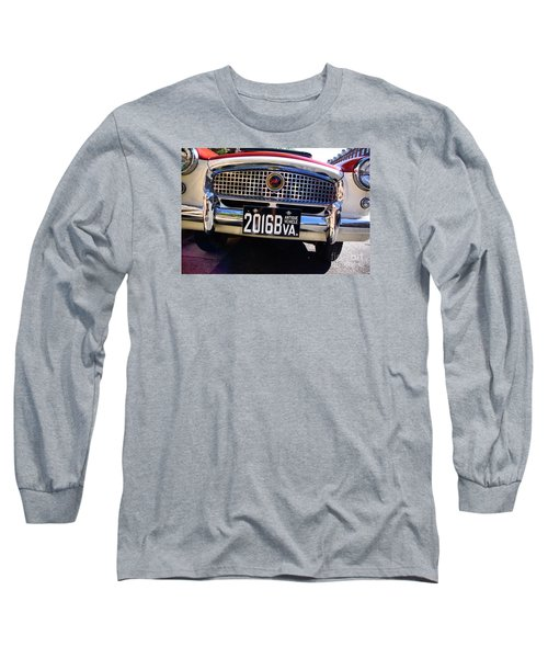 1961 Nash Metropolitan Long Sleeve T-Shirt by John S