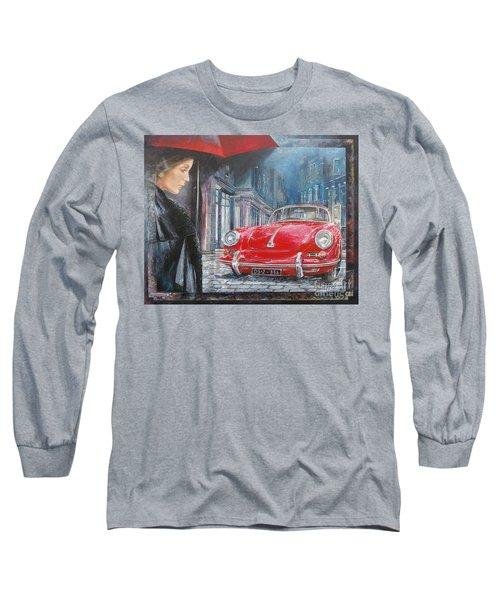 1964 Porsche 356 Coupe Long Sleeve T-Shirt