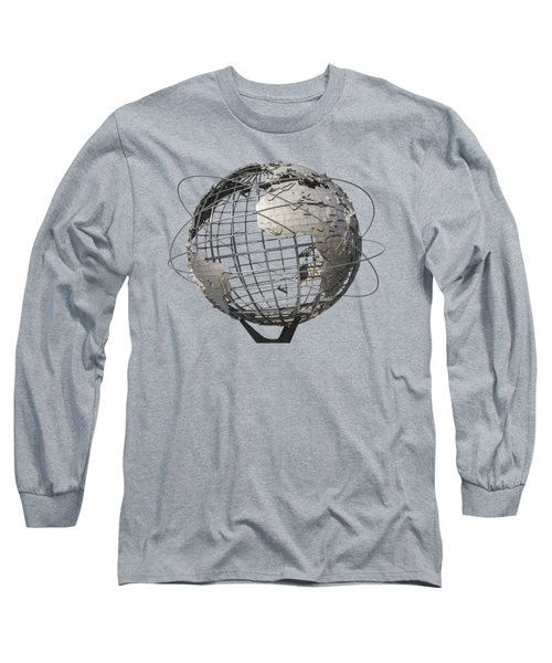 1964 World's Fair Unisphere Long Sleeve T-Shirt by Bob Slitzan