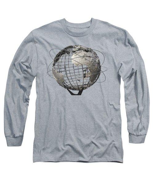 1964 World's Fair Unisphere Long Sleeve T-Shirt