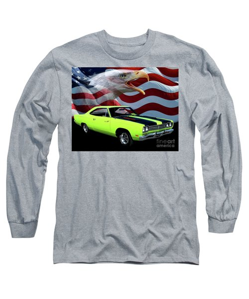 1969 Plymouth Road Runner Tribute Long Sleeve T-Shirt