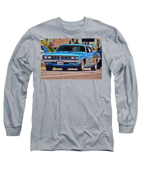 1971 Plymouth 'cuda 383 Long Sleeve T-Shirt