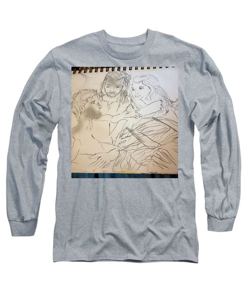 Adam Andeve The Creation Story Long Sleeve T-Shirt