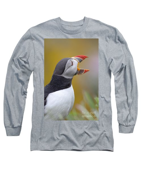 Atlantic Puffin - Scotland Long Sleeve T-Shirt