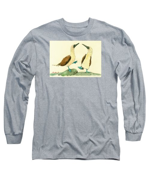 Blue Footed Boobies Long Sleeve T-Shirt