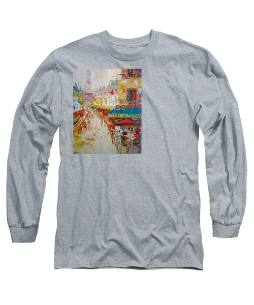 Cafe De Paris Long Sleeve T-Shirt