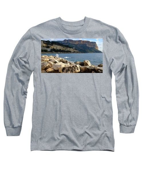 Long Sleeve T-Shirt featuring the photograph Cap Canaille Cassis by August Timmermans