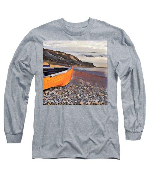 Chesil Beach Long Sleeve T-Shirt